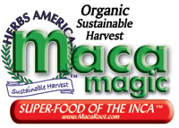 Herbs of America - Maca Magic www.macaroot.com